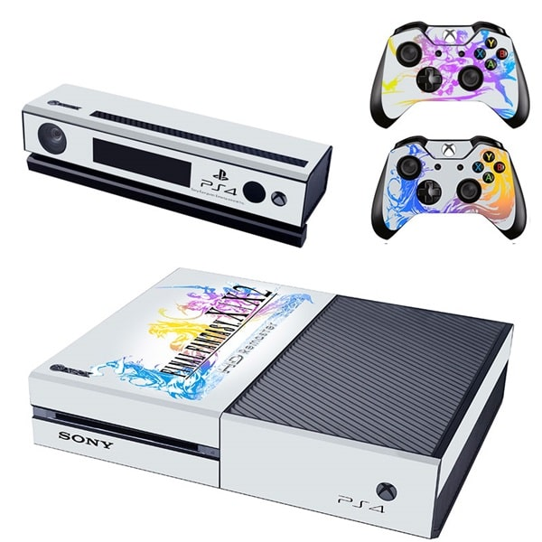 Final Fantasy X Decal Set for Xbox One and Controller