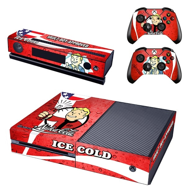 Ice Cold Coca Cola Fallout Decal Set for Xbox One and Controller