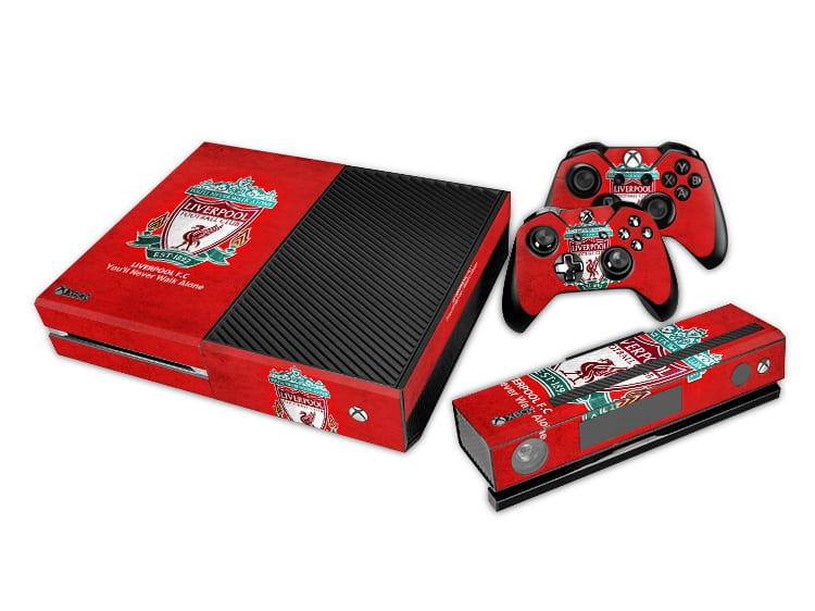 Liverpool Decal Set for Xbox One and Controller
