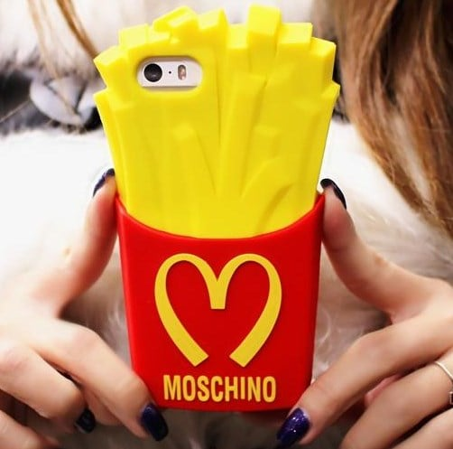French Fry Silicone Case for Xperia Z5